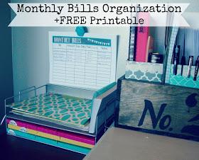 Bills-Monthly-Organization