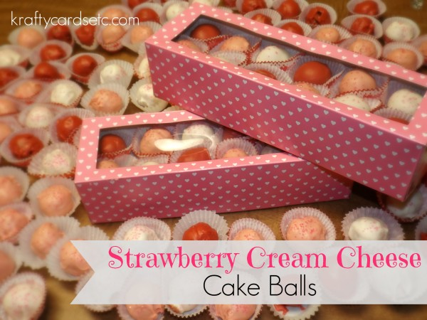 Strawberry Cream Cheese Cakeballs cover