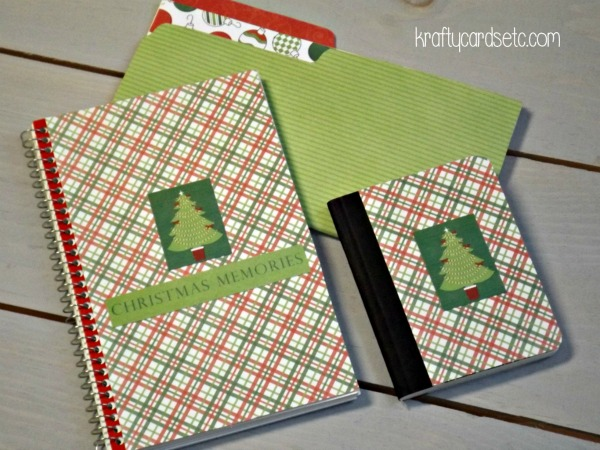 Christmas notebooks 8